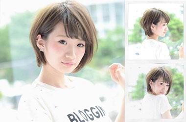 清爽女生短发 短发女生图片 日系短发发型6