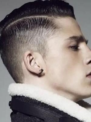 帅气潮流的男士发型短发