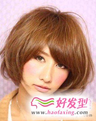 甜美系波波头发型  修颜效果升级