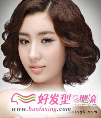 五款2012新娘发型图片  优雅随心选