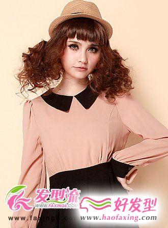 齐刘海发型