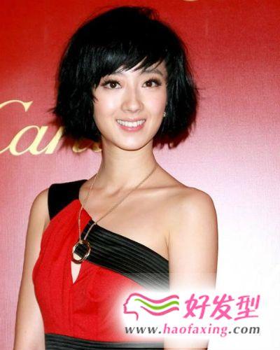 桂纶镁短发发型图片大集合 时尚短发更显轮廓的深邃