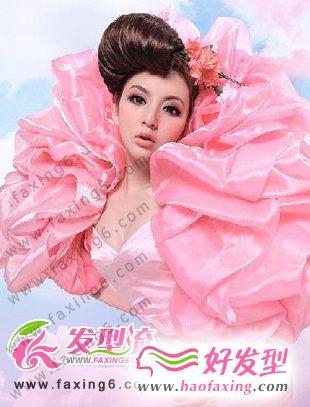 唯美新娘发型 诠释春天的浪漫