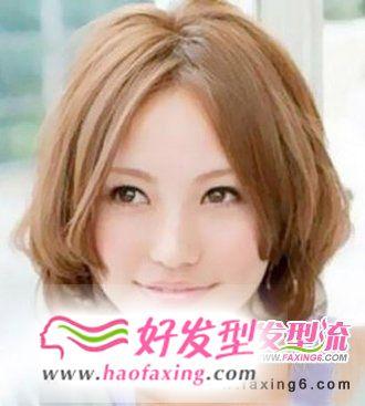 中分波波头发型  修出小V脸