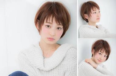清爽女生短发 短发女生图片 日系短发发型20