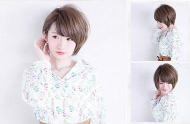 清爽女生短发 短发女生图片 日系短发发型4