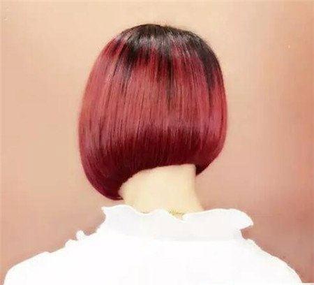 短发斜后切发型 今年流行发型 不规则沙宣发型2