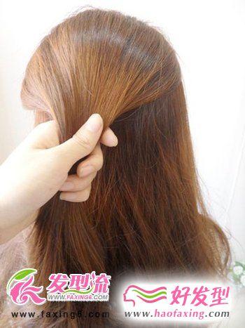 超人气DIY韩式发型图解