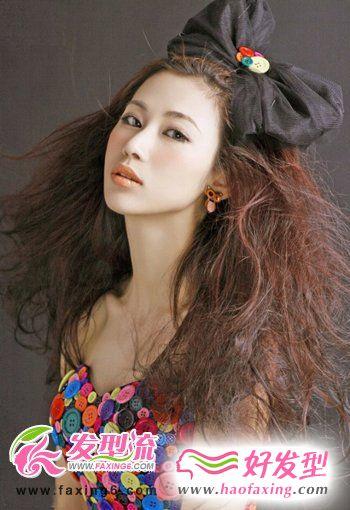 今年最流行的烫发发型图片欣赏