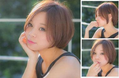 清爽女生短发 短发女生图片 日系短发发型24