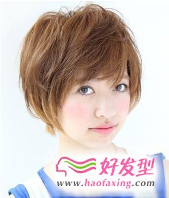 2013最减龄短发发型图片设计 快速成就甜美动人气质