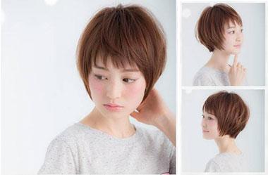 清爽女生短发 短发女生图片 日系短发发型12