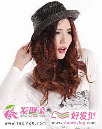 帽子与发型的时尚搭配