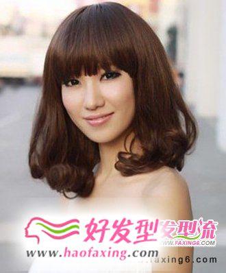经典梨花头发型  甜美气质女生发型