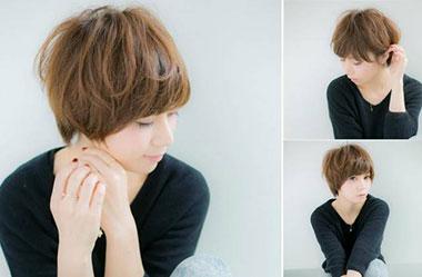 清爽女生短发 短发女生图片 日系短发发型1