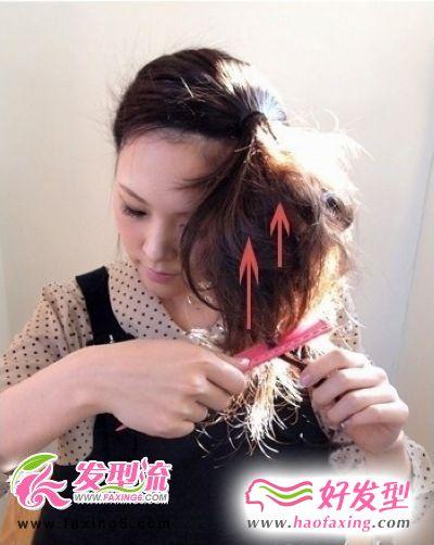 早春俏丽发型之刘海丸子头发型篇