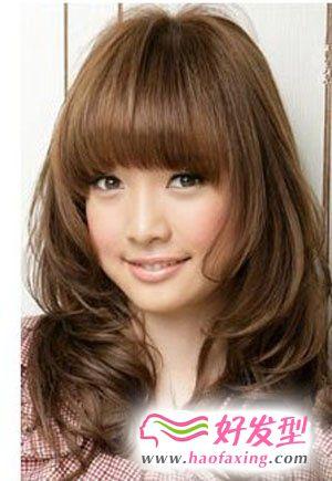 洋气刘海发型 属于你自己的潮流范儿