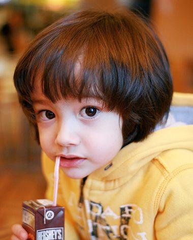 清新男童发型 韩国小男孩发型 小男孩发型推荐1