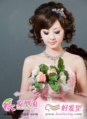 浪漫奢华 盛夏新娘发型