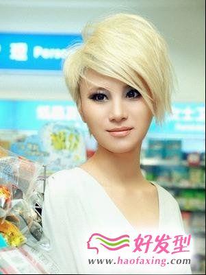 中性风短发发型 回顾昔日快女发型