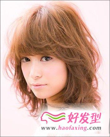 2012最适合长脸女生适合的发型图片