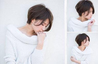 清爽女生短发 短发女生图片 日系短发发型3