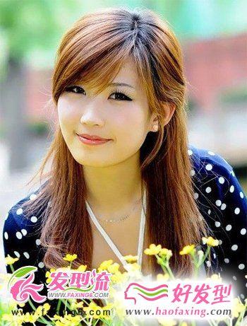 斜刘海发型设计  今年最流行的发型