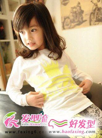小女孩发型图片 时尚百变女孩