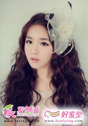 卷发发型设计 打造完美女人