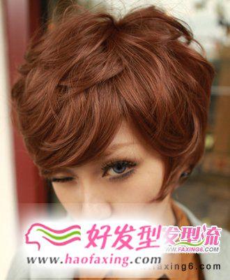 女生烫发发型图片  秀出潮流新主张