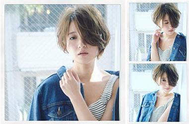 清爽女生短发 短发女生图片 日系短发发型10