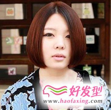 女生气质可爱波波头发型图片
