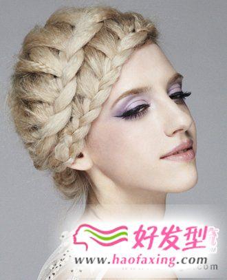时尚靓丽  五款最有气质的盘发发型