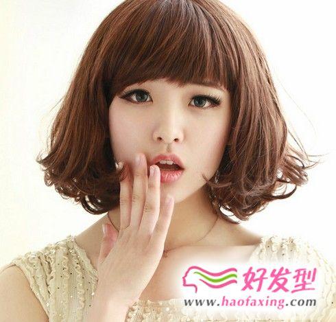 韩式蛋卷头怎么烫 流行蛋卷头图片烫出魅惑女性风