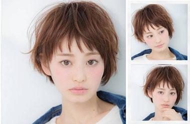 清爽女生短发 短发女生图片 日系短发发型15