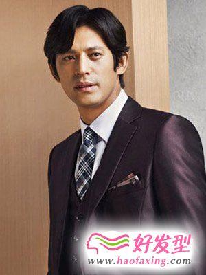 吴智昊的男人味发型  好看的男士发型