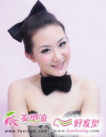 圆脸适合的发型图片 发型设计与脸型搭配