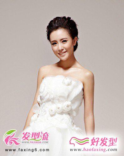 美丽新娘发型推荐