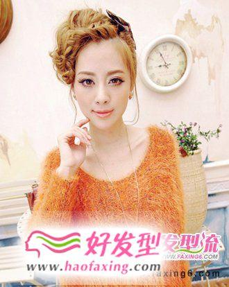 美美的刘海发型  塑造小脸美女形象