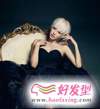 推荐韩式女生短发发型图片 让你再度掀起时尚中性风潮
