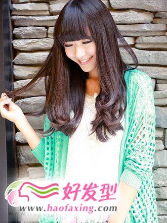 发型图片  2012流行发型之女生发型秀