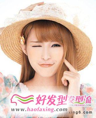 甜心派女生发型  2012秋季流行发型