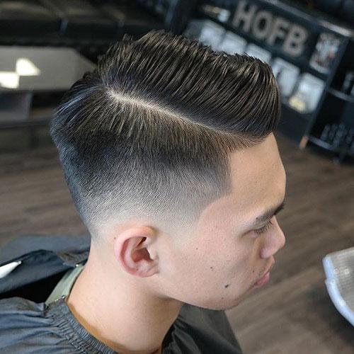 男生简单发型 男生渐变发型 简单渐变发型男8