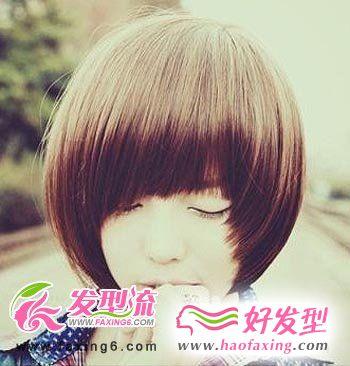 最强个性化女生短发发型