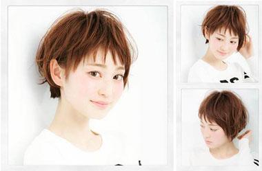 清爽女生短发 短发女生图片 日系短发发型8