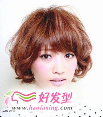 根据脸型  找准适合自己的刘海发型