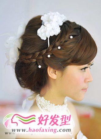 最新新娘发型热力推荐  更潮更美丽