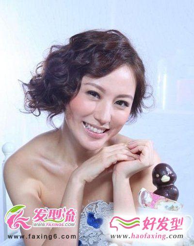 花样刘海发型图片欣赏