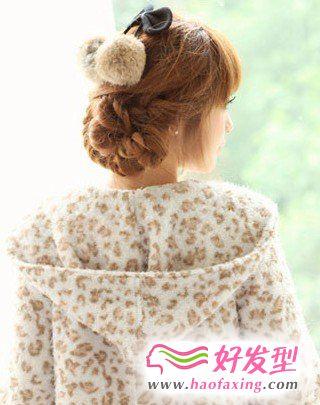 韩式盘发 简单的韩式盘发
