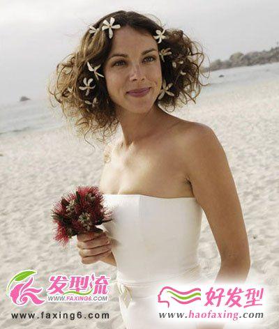 最新浪漫唯美新娘发型